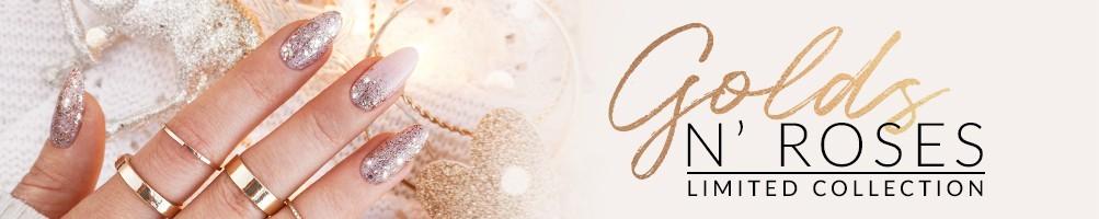 Golds N' Roses Glitter