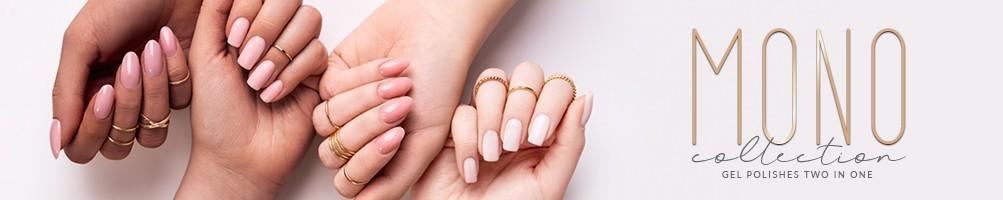 Smalto semipermanente 2 in 1 Collezione MONO SPN Nails Professional