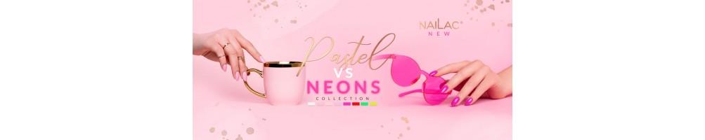 Smalti ibridi Pastel vs Neons NaiLac colori primavera estate 2021