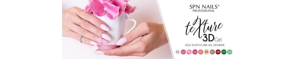 Texture Gel 3D plastilina per decorazioni unghie in rilievo Nail Art
